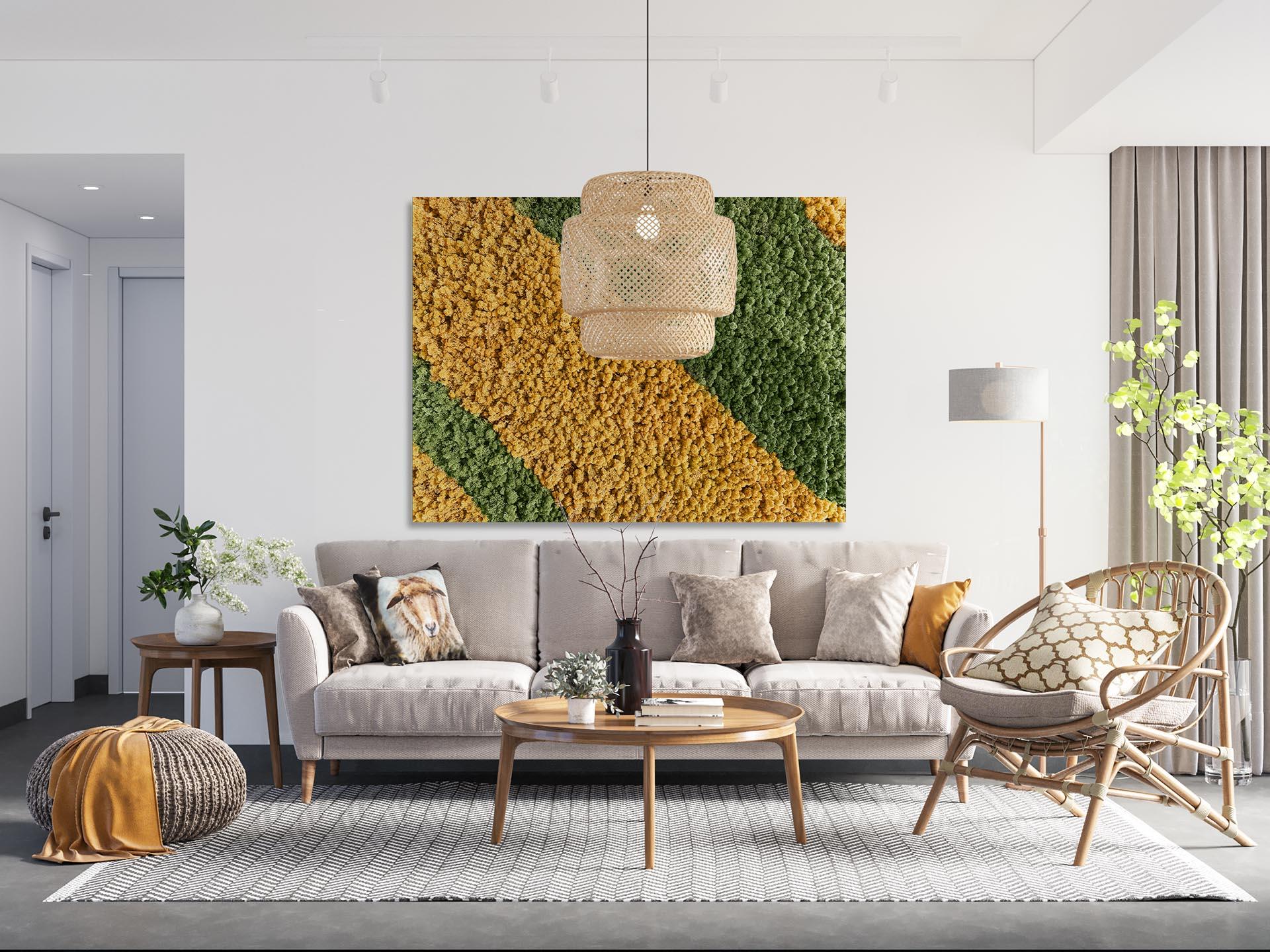 Alpenmoos - deine bunten und individuellen Moosbilder mit Islandmoos, Polstermoos und Kunstpflanzen für deine Innenraumgestaltung